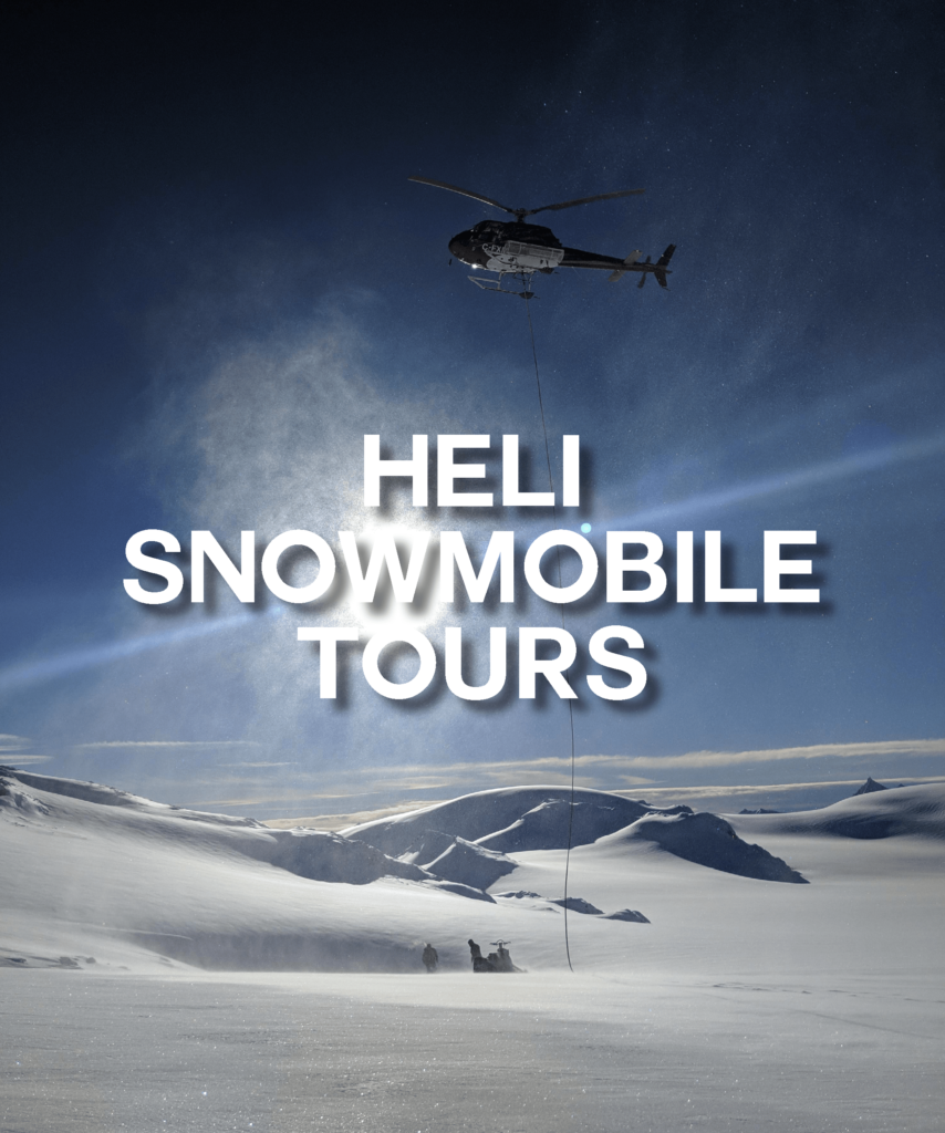 Heli Snowmobile Tours