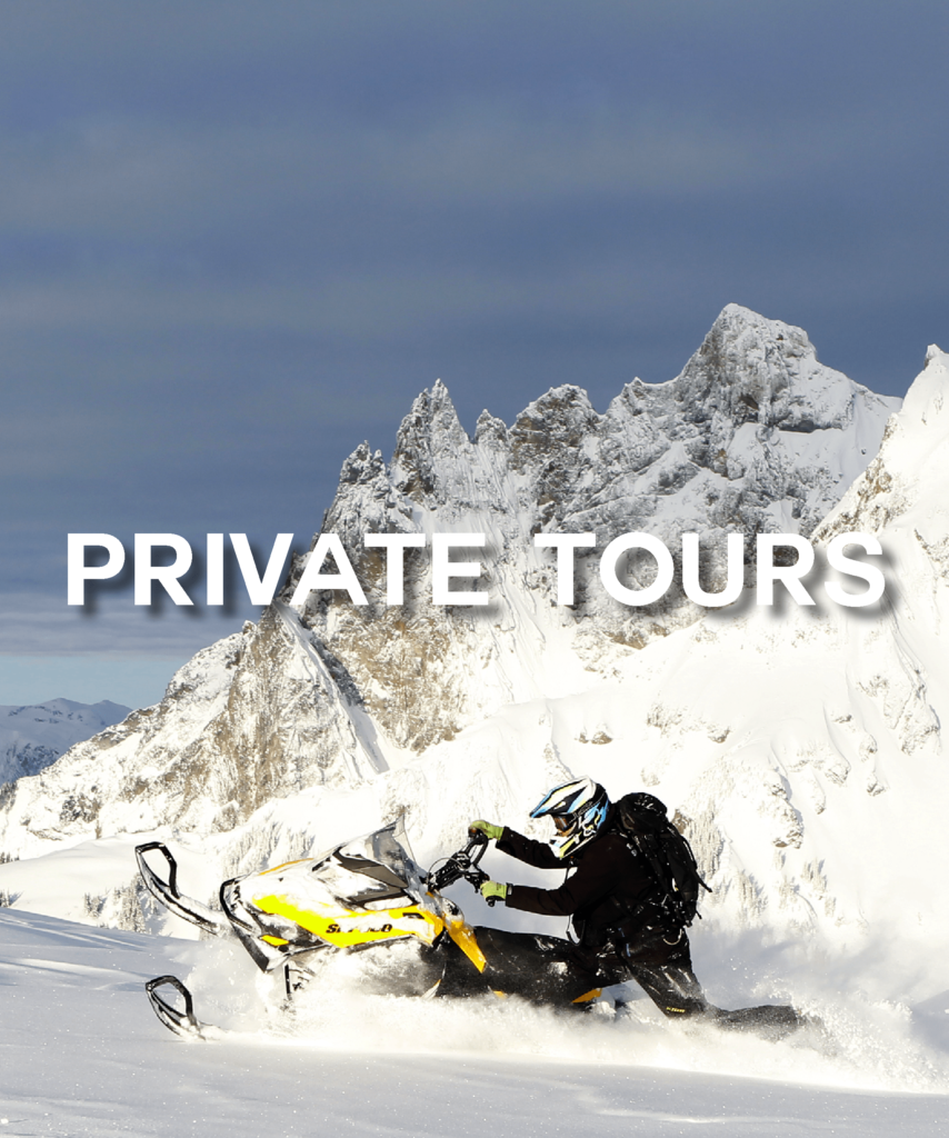 whistler private snowmobile tours