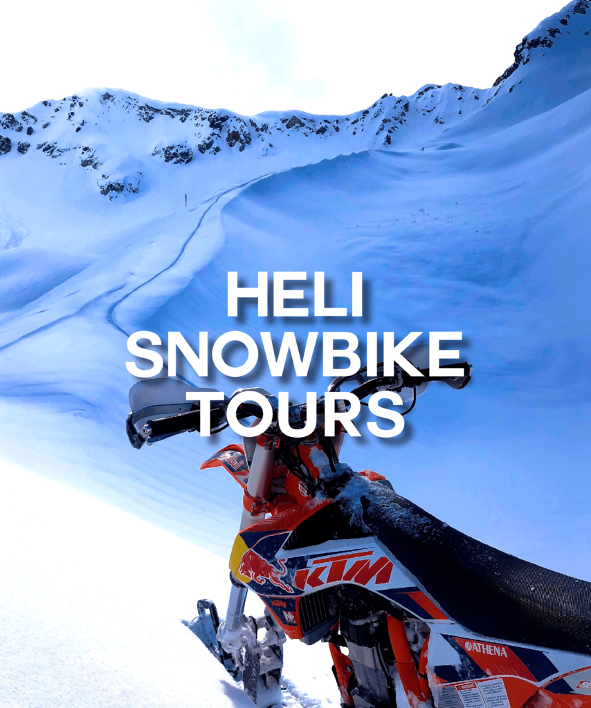Heli Snowbike Tours whistler